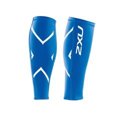 2XU Men's Non-Stirrup Compression Calf Guard, Royal Blue/Royal Blue, Medium - http://all-shoes-online.com/2xu/medium-2xu-compression-calf-guard-white-white-2