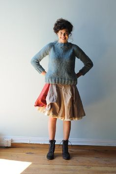 agnes sweater pattern Quince and Company, American Wool Yarn Knitting Patterns, Knitting Projects, Knitting Ideas, Fall Knitting, Vogue Knitting, Crochet Patterns, Couture, Pulls, Knit Crochet