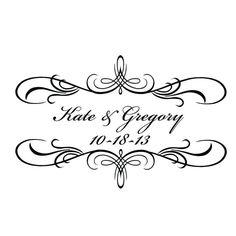 Digital Wedding Monogram, Wedding Logo, Custom Wedding Monogram, GOBO Lighting, Wedding Invitaitons