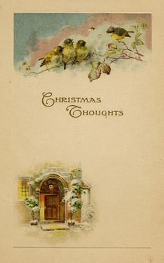 Christmas Thoughts by The Texas Collection, Baylor University, via Flickr