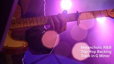 Melancholic R&B Trip Hop Backing Track in Gm Digital Audio Workstation, Trip Hop, Backing Tracks, News Track, Reggae