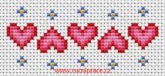 Hearts, free cross stitch patterns and charts - www. - Hearts, free cross stitch patterns and charts – www. Cross Stitch Bookmarks, Cross Stitch Heart, Cross Stitch Borders, Cross Stitch Alphabet, Cross Stitch Flowers, Cross Stitch Designs, Cross Stitching, Cross Stitch Embroidery, Embroidery Patterns