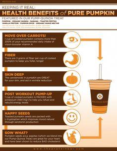 health benefits of pumpkin Health Benefits, Health Tips, Health And Wellness, Health Fitness, Pumpkin Puree, Pumpkin Spice, Smoothie Benefits, Organic Quinoa, Protein Bars