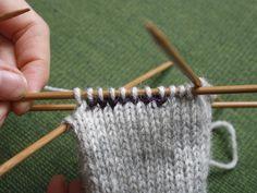 Aukkopeukalo Knitting Patterns, Knits, Knit Patterns, Knit Stitches, Knitting Stitch Patterns, Tuto Tricot, Loom Knitting Patterns, Knitting Stitches, Knitwear