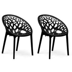 Buy Nilkamal Premium PP Chairs Set of 2 (Black) By HOMEGENIC by undefined, on Paytm, Price: Rs.5640?utm_medium=pintrest