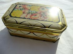 British Candy Tin great condition vintage by finkandfaun on Etsy, $10.00