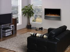 Product of the Day: Dimplex Inspiration Wall-Mount Electric Fireplace.  For more information, please visit either our Facebook Page (http://www.facebook.com/sleekheat) or our Twitter Page (https://twitter.com/SleekHeat).  Purchase Information can be found at the web link on the picture!