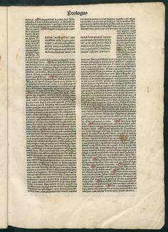Biblia cum postillis Nicolai de Lyra et expositionibus Guillelmi Britonis in omnes prologos S. Hieronymi. Nicolaus de Lyra: Contra perfidiam Iudaeorum (1483)
