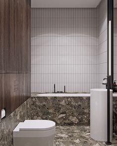 "Apartment bathroom decor ideas design wall colors inspirational tol ko ""truffle flat"" in Steam Showers Bathroom, Bathroom Doors, Master Bathroom, Bathroom Modern, Warm Bathroom, Bathroom Canvas, Washroom, Bathroom Wall, Small Bathroom"