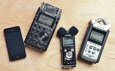 The Best Portable Audio Recorder For DSLR Video: iPhone4, Tascam DR-100 MKII, Zoom H4N or Olympus LS-10