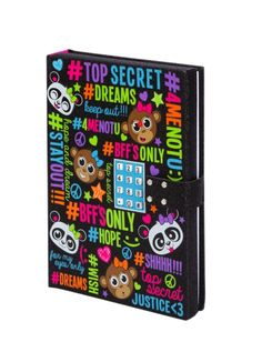 Hashtag Electronic Push Code Journal | Girls Journals & Writing Room, Tech & Toys | Shop Justice