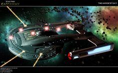 The hardest Day by Joran-Belar on DeviantArt Star Trek Rpg, Star Trek Cast, Star Wars Ships, Trekking Quotes, Scotty Star Trek, Trek Deck, Starfleet Ships, Star Trek Images, Capital Ship