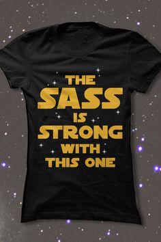 ♥ this sassy Star Wars shirt!
