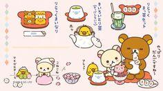 <3 Japanese food & desserts #Rilakkuma (≧∇≦)