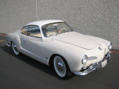 saw one of these (also white) driving around town the other day. envy.