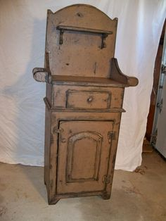 Raleigh Wash Stand Cabinet by TheBarnWoodshop on Etsy