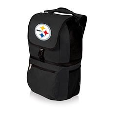 NFL Zuma Insulated Cooler Backpack, Pittsburgh Steelers >>> See this great product.