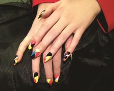 Math Is Fun: Geometric Nail Art Roundup - Style - NAILS Magazine