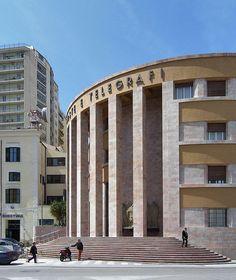 angiolo mazzoni, palazzo delle poste di agrigento, Post Office in Agrigento, Italy