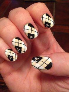 Pittsburgh penguin nails nail designs pinterest penguin nails pittsburgh penguins argyle nail design nailwraps myncla prinsesfo Choice Image