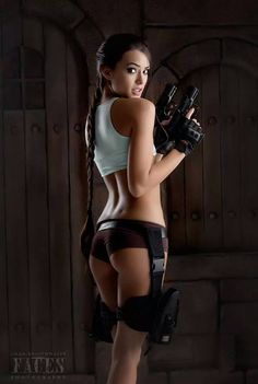 Character: Lara Croft / From: Eidos Interactive & Square Enix's 'Tomb Raider' Video Game Series / Cosplayer: Joanie Brosas