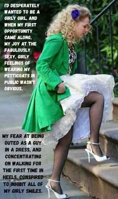 Cute Captions, Petticoats, Girly Girl, Crossdressers, Feminism, Sassy, Quote, Thoughts, Guys