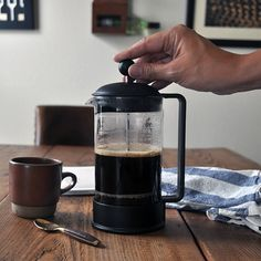 Hot To Make Coffee: The Perfect French Press Technique | Turntable Kitchen