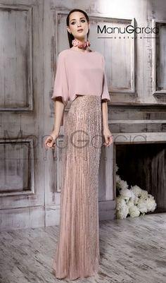 MG 2762 – Evening dress – Manu García - Fashion Outfits Simple Dresses, Elegant Dresses, Evening Dresses, Prom Dresses, Formal Dresses, Modest Fashion, Fashion Dresses, Wedding Robe, Engagement Dresses