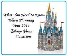 Planning a 2014 Disney World Vacation -   Disney Insider Tips