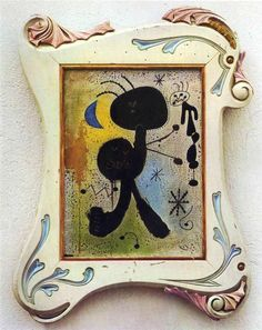 Painting by Joan Miró, (1943)