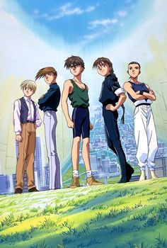 Gundam Wing - Looking back, this isn't a great anime, but it showed me to the darker side of war, in particular its affects on child soldiers