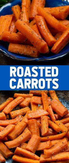 You Have Meals Poisoning More Normally Than You're Thinking That Learn How To Roast Carrots In This Easy Recipe Use Regular Or Baby Carrots Tossed With Seasoning To Make Roasted Carrots As A Side Dish Vegetable For Dinner Via Crazyforcrust Roasted Baby Carrots, Carrots Healthy, Baked Carrots, Roasted Vegetables, Veggies, Best Side Dishes, Healthy Side Dishes, Vegetable Side Dishes, Recipes