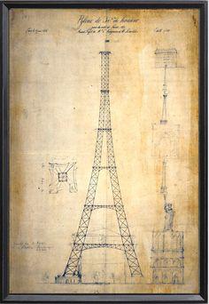 EIFEIL TOWER - SEPIA