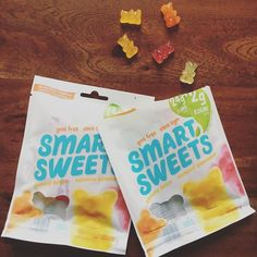 So I am a tad in love with @eatsmartsweets - I mean sugar free high fibre zero artificial ingredient candies?! Come on!!!! Finally the candy craving can be satisfied without gobbling down sugar and artificial flavourings  colourings. If you haven't tried these yet I totally recommend 'em! I prefer the sweet over sour however both are tasty   #healthierchoices #eatwithstacey #smartsweets #naturalcandies #betterchoices #candygoals
