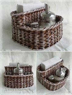 Řemeslná produkt Karton Tkaní koše novin Cloth Duct Tape foto papír 31