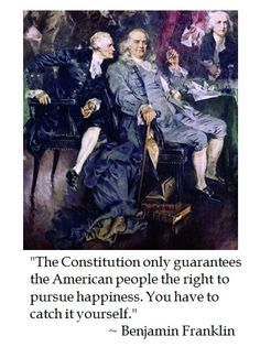 Ben Franklin on the Constitution