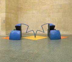 Tim Scott 'Quadreme', 1966 © Tim Scott Tim Scott, Acrylic Sheets, Floor Chair, Sculptures, Contemporary, Artwork, Objects, Google Search, Space