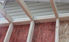 Learn How to Build Rafters for a Shed. This complete guide will teach you how to plan, design, cut and install rafters by yourself. Hurricane Ties, Ridge Beam, Shed Floor, Gable Roof, Building A Shed, Garden Sheds, Wood Screws, Home Repair, Backyard Ideas