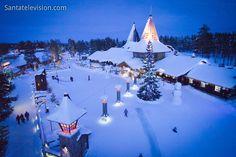 Il Villaggio di Babbo Natale di Rovaniemi e la linea del circolo polare