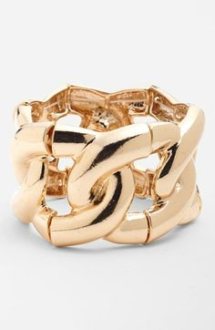 Statements by DCK Chunky Chain Stretch Bracelet (Juniors) available at #Nordstrom