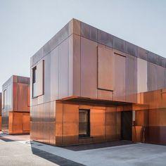 copper facade