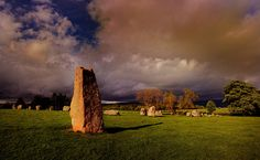 Long Meg and her Daughters Stone Circle, England