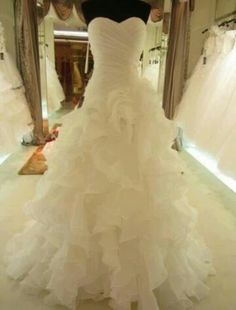 Yes. (say yes to the dress) YES!