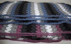 Hæklet tæppe