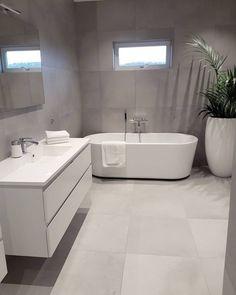 Bathroom decor, Bathroom decoration, Bathroom DIY and Crafts, Bathroom Interior design Bathroom Toilets, Bathroom Renos, Laundry In Bathroom, Bathroom Flooring, Bathroom Ideas, Bathroom Grey, Bathroom Inspo, Bathroom Designs, Bathroom Fixtures