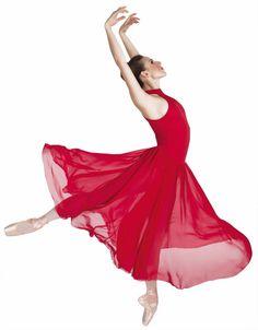 Elegant Bodywrappers Long Mock Turtle Neck Lyrical Dress Dance Costume