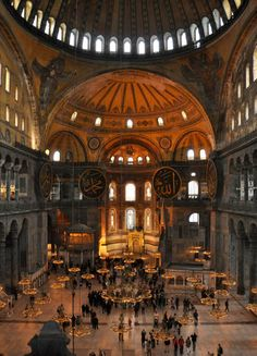 Visiting Istanbul's Hagia Sophia (Ayasofya). The building is open Tuesday to Sunday from 9 a.m. to 7:30 p.m., though the upper gallery closes at 7 p.m.. Admission is charged. The ticket office is on the southwest corner of the complex.