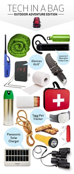 A lot of people hit the trails and the backwoods to get away from the everyday trappings of #technology. But #tech can play a subtle role in making your outdoor experiences even better if you know what to pack, so take a look at these go-to tech ideas. #outdoors
