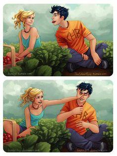 OMG!!! I almost cried when I saw this!!!! I wish I had a demigod boyfriend!