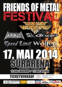 New-Metal-Media der Blog: News zum Friends of Metal Festival #news #metal #festival